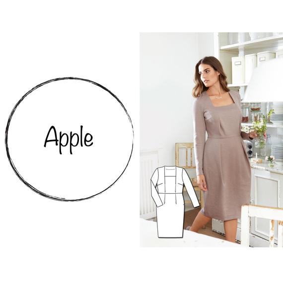 Æbleform tøj til Hvilket tøj